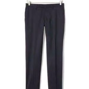 Banana Republic Slim Solid Wool Trousers 35/36